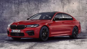 BMW M5 po face liftingu