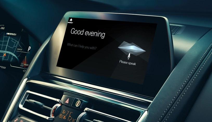 BMW otrzyma własnego asystenta głosowego /materiały prasowe