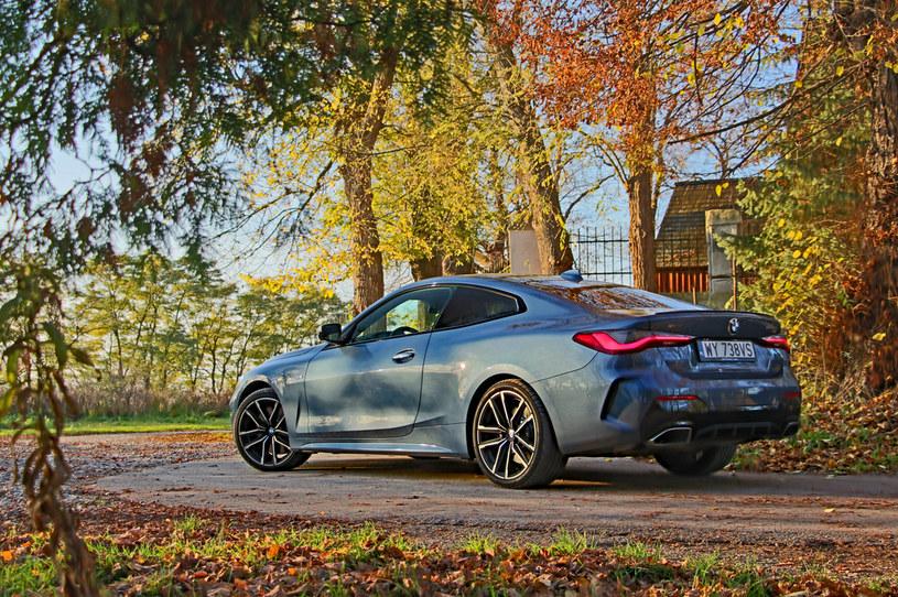 BMW serii 4 - pretendent do tytułu Kobiecego Światowego Rodzinnego Samochodu Roku /INTERIA.PL