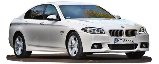 BMW SERII 5 F10/F11 (2010-2017), polecane wersje: silniki R6, 520d/184 KM - po wymianie rozrządu. /Motor