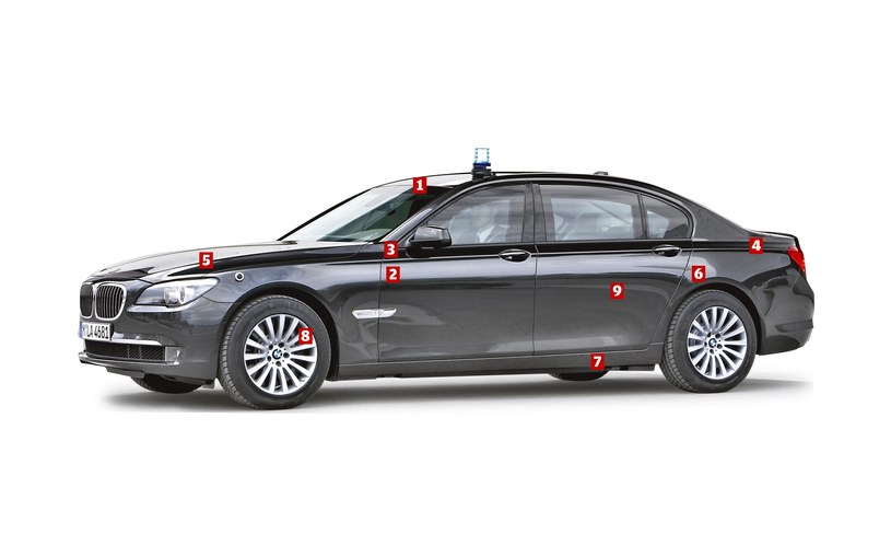 BMW serii 7 High Security /Motor