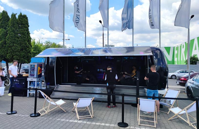 BMW Virtual vs. Reality Tour /INTERIA.PL