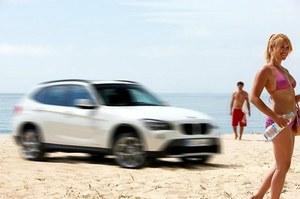 BMW X1 bez kamuflażu