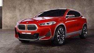 BMW X2 - jeszcze jako prototyp