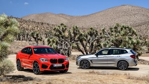 BMW X3 M i X4 M - sportowe auta w skórze SUVów