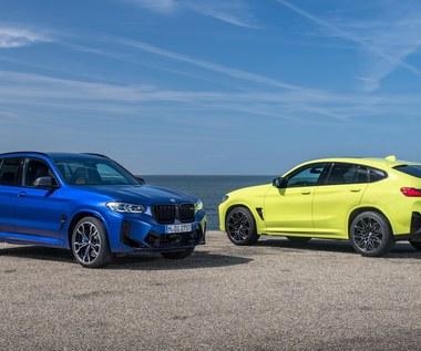 BMW X3 M oraz X4 M też przeszły modernizację