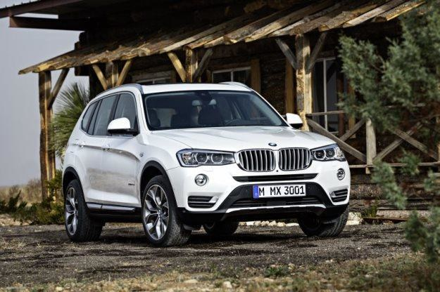 BMW X3 po liftingu /