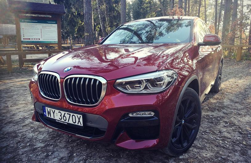 BMW X4 - rodzinny i bezpieczny /INTERIA.PL