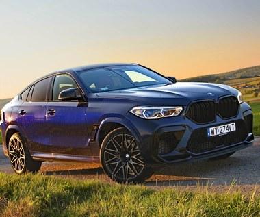 BMW X6 M Competition – sportowe coupe, które nie przestało rosnąć