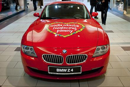 BMW Z4 coupé dla Wielkiej Orkiestrze Świątecznej Pomocy /