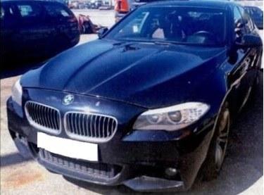 BMW zarekwirowane mafii narkotykowej /Prokuratura Krajowa /materiały prasowe