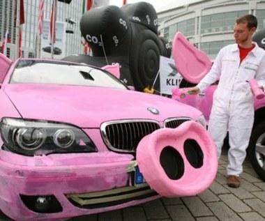 BMW ze świńskim ryjem!