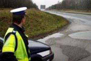 Bo policjant miał zły dzień?