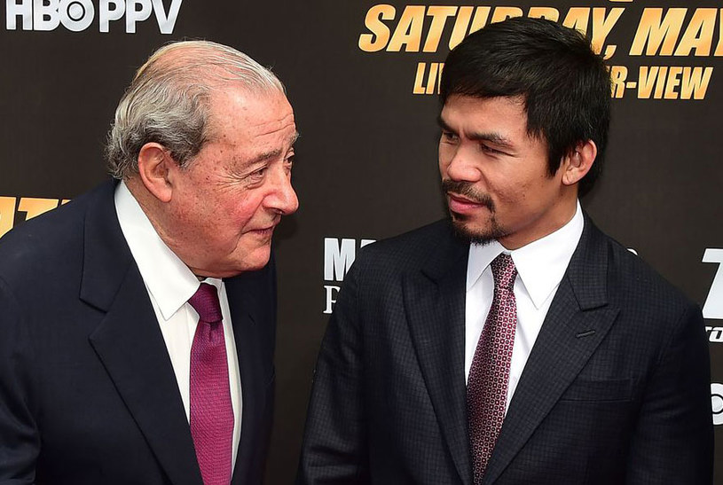 Bob Arum i Manny Pacquiao /AFP