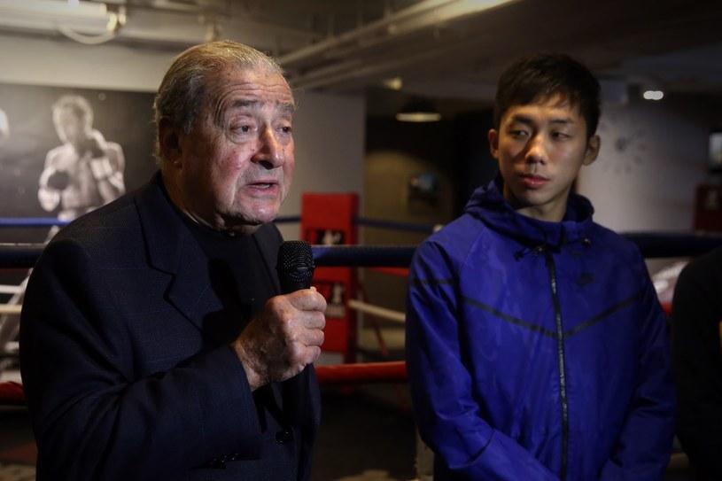 Bob Arum i Rex Tso /AFP