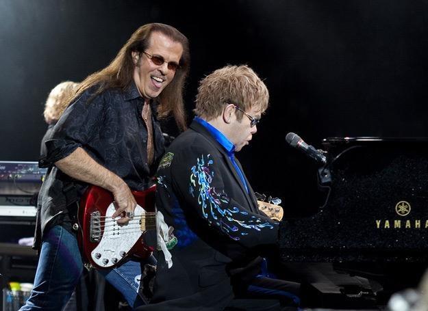 Bob Birch współpracował z Eltonem Johnem od 20 lat /fot. Bartosz Nowicki