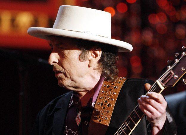 """Bob Dylan: """"Ktoś zamawiał pizzę?"""" fot. Kevin Winter /Getty Images/Flash Press Media"""