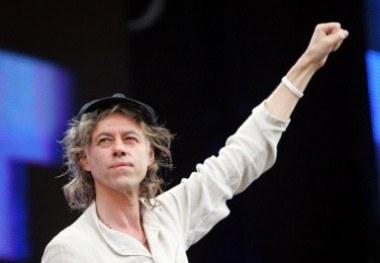Bob Geldof w Londynie /AFP