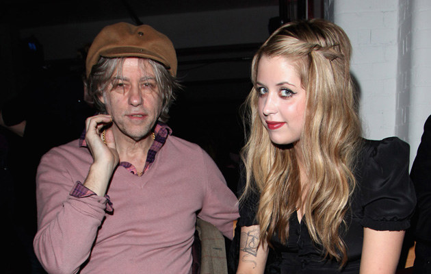 Bob Geldof z córką Peaches Geldof /Tim Withby /Getty Images