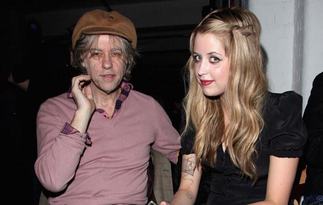 Bob Geldof z córką Peaches Geldof /Tim Withby /Getty Images