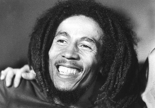 Bob Marley zmarł 11 maja 1981 r. w wieku 36 lat... /AFP