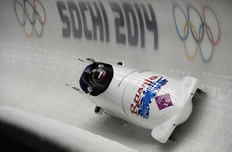 Bob Rosji III na igrzyskach w Soczi /AFP
