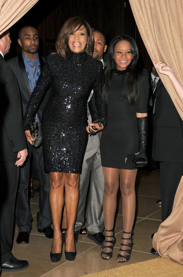 Bobbi Kristina i Whitney Houston /Jason Merrit /Getty Images