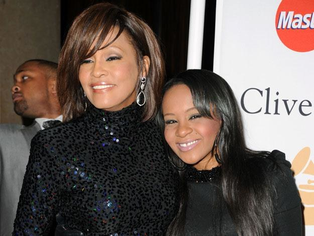 Bobbi Kristina ze słynną mamą fot. Jason Merritt /Getty Images/Flash Press Media