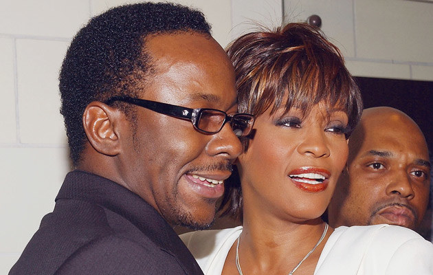 Bobby Brown i Whitney Houston, fot. Amanda Edwards  /Getty Images/Flash Press Media