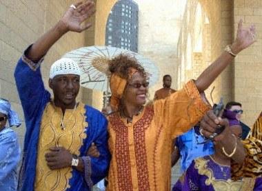Bobby Brown i Whitney Houston /AFP