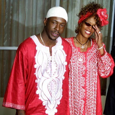Bobby Brown i Whitney Houston /arch. AFP