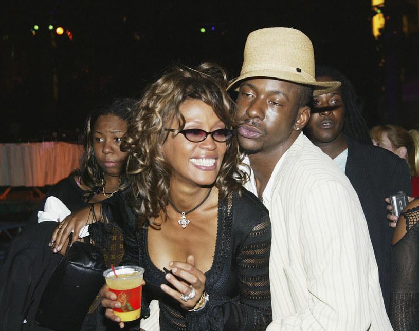 Bobby Brown i Whitney Houston /Frazer Harisson /Getty Images