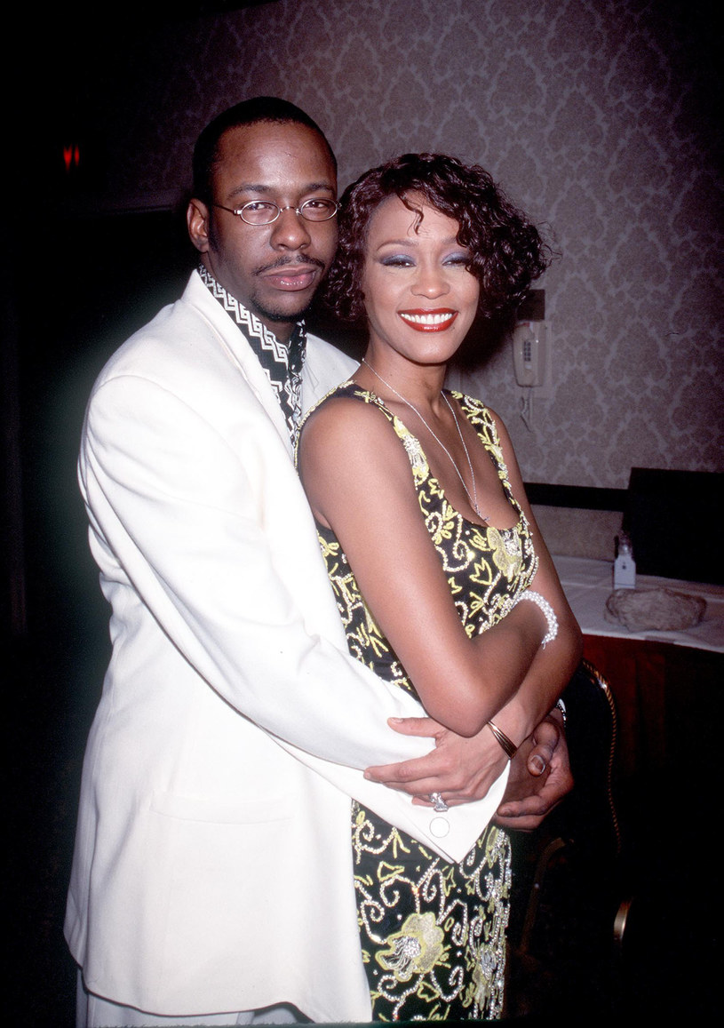 Bobby Brown i Whitney Houston /Robin Platzer/Twin Images    /Getty Images