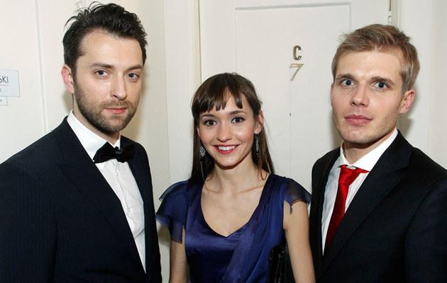 Bobek i Ciachorowski z Joanną Osydą, fot. Engelbrecht  /AKPA