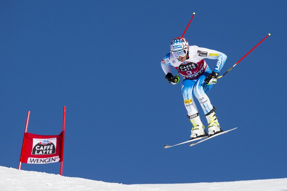 Bode Miller amerykański alpejczyk /JEAN-CHRISTOPHE BOTT /PAP/EPA