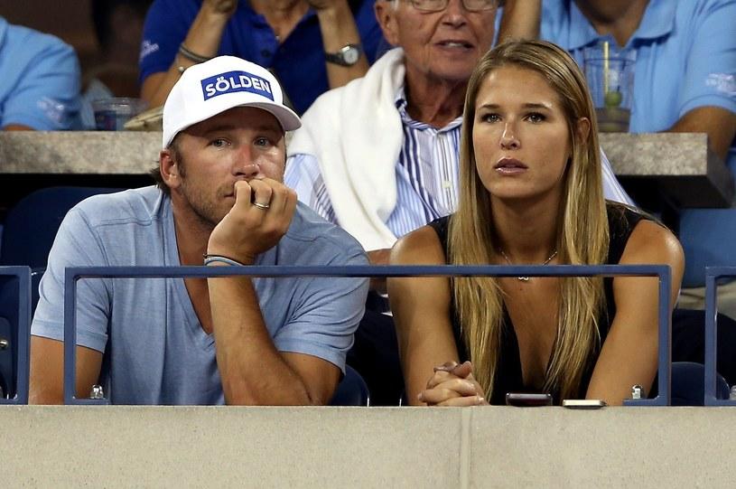 Bode Miller z żoną Morgan /AFP