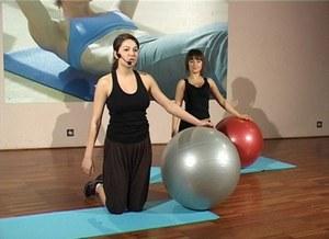 Body ball - górne partie ciała