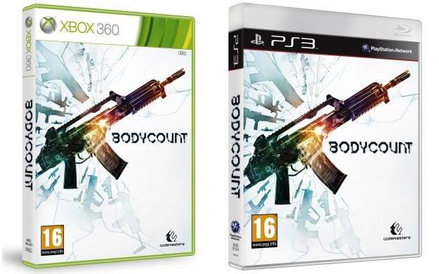 Bodycount - okładki gry na konsole Xbox 360 oraz PS3 /Informacja prasowa