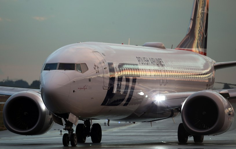Boeing 737 MAX 8 - LOT; Zdj. ilustracyjne /Fot. Stanislaw Kowalczuk /East News