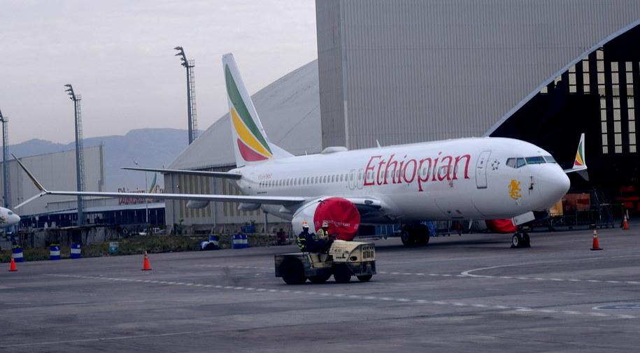 Boeing 737 Max etiopskich linii lotniczych / STR   /PAP/EPA