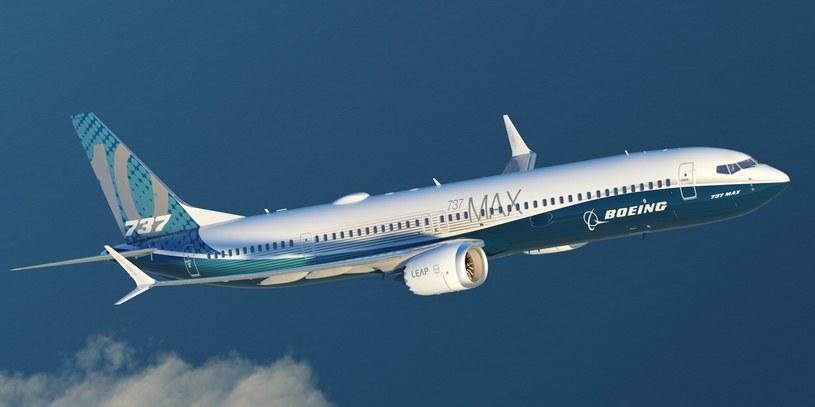 Boeing 737 MAX w powietrzu /materiały prasowe