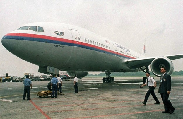 Boeing 777-200 należący do Malaysia Airlines /AFP