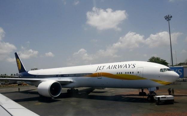 Boeing 777-300 linii Jet Airways /AFP