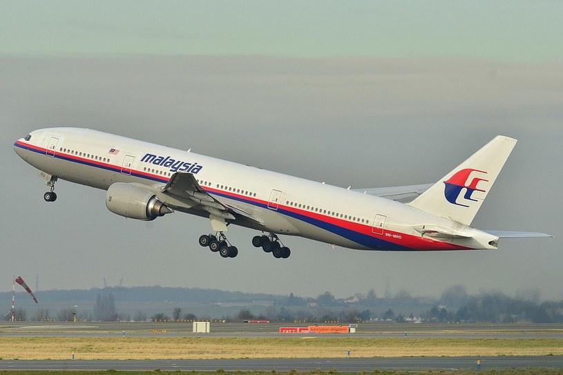 Boeing 777, który zaginął w 2014 roku /Wikipedia