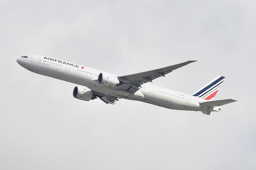 Boeing 777 of the Air France line, photo Illustration / Mateusz Jagielski / East News