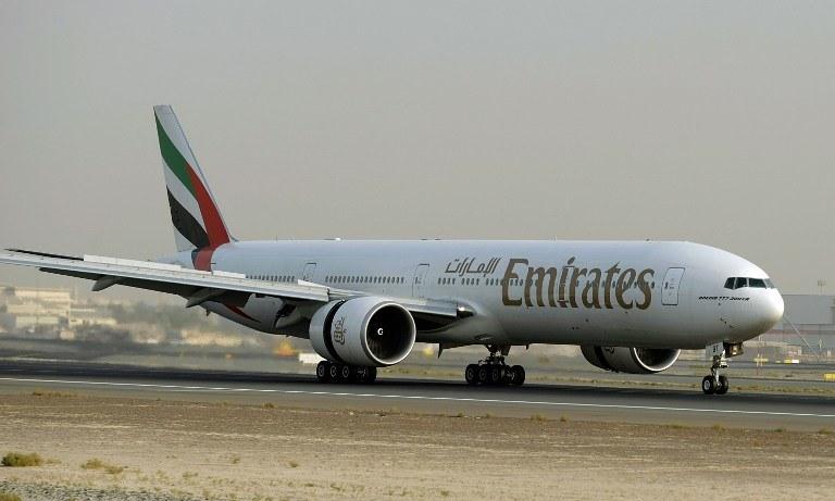 Boeing 777 linii Emirates /AFP