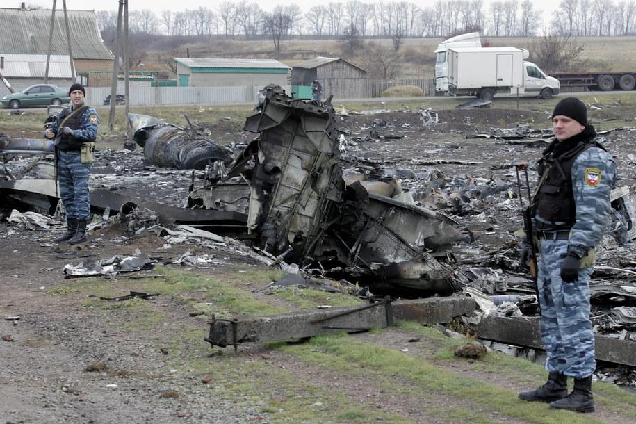 Boeing 777 został zestrzelony 17 lipca ub. roku / ALEXANDER ERMOCHENKO    /PAP/EPA