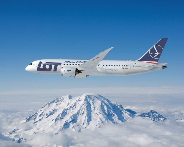 Boeing 787 Dreamliner w barwach LOT-u /Informacja prasowa