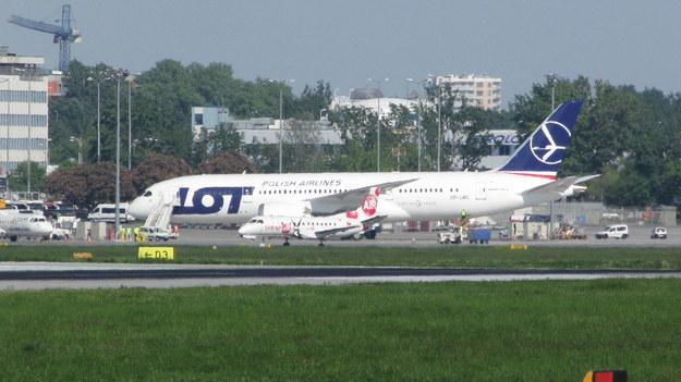 Boeing 787 /Kuba Berent /RMF FM