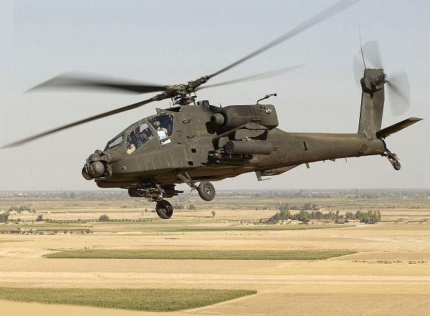 Boeing AH-64 Apache. Źródło: Andy Dunaway/US ARMY/Wikipedia /